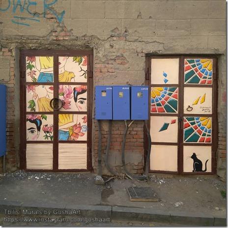 Tbilisi Murals by GoshaArt (2)
