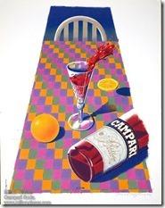 Milton Glaser Campari Soda poster