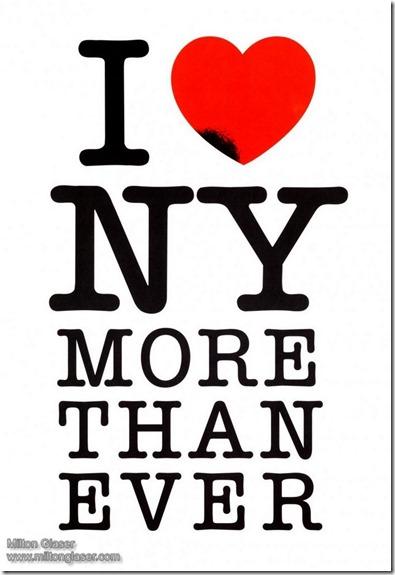 Milton Glaser I Love New York More Than Ever