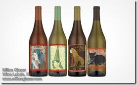 Milton Glaser Wine Labels