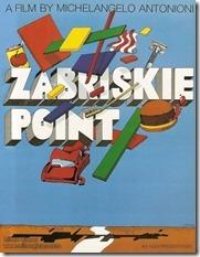 Milton Glaser Zabriskie Point poster