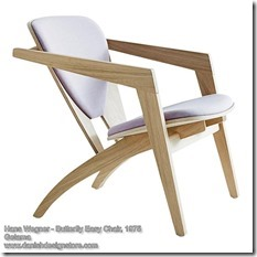 Hans Wegner - Butterfly Easy Chair