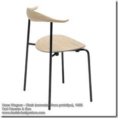 Hans Wegner - Chair (prototipe) 2