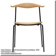 Hans Wegner - Chair (prototipe)