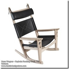 Hans Wegner - Keyhole Rocking Chair