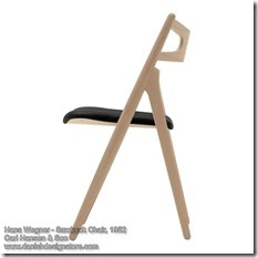 Hans Wegner - Sawbuck Chair 2