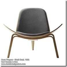Hans Wegner - Shell Chair