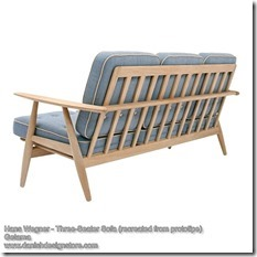 Hans Wegner - Three-Seater Sofa 2