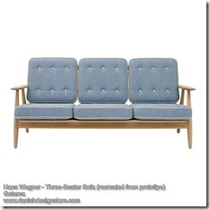 Hans Wegner - Three-Seater Sofa