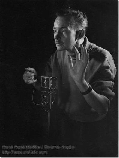 René Maltête - autoportrait