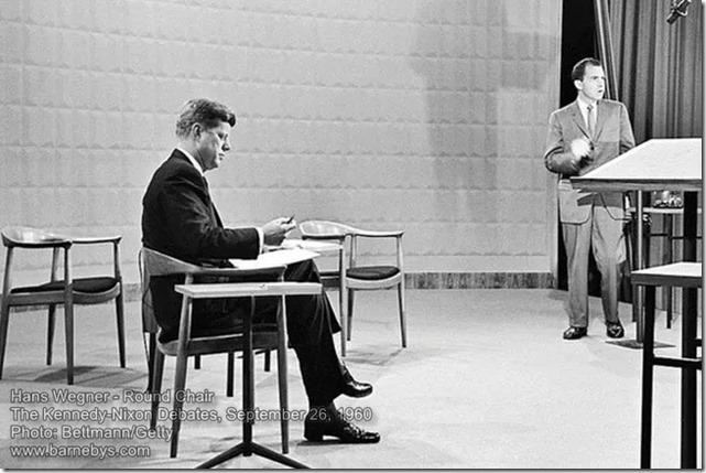 Wegner Round Chair Kennedy-Nixon Debates