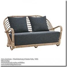 Arne Jacobsen - Charlottenborg 2 Seater Sofa