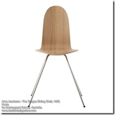 Arne Jacobsen - The Tongue Dining Chair