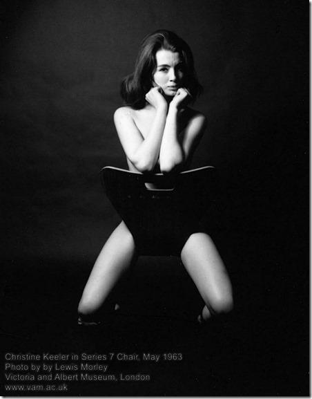 Christine Keeler in Series 7 Chair