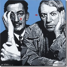 Jef Aerosol - Dali & Picasso