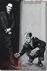 Jef Aerosol - Marcel Duchamp & Jackson Pollock