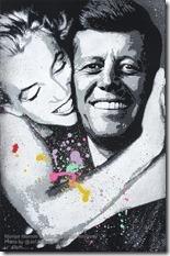Jef Aerosol - Marilyn & JFK