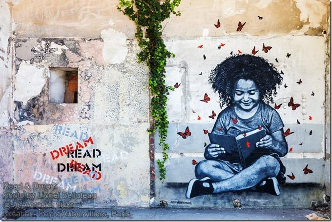 Jef Aerosol - Read & Dream