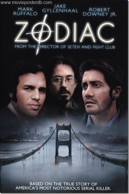 Zodiac 2007 movie
