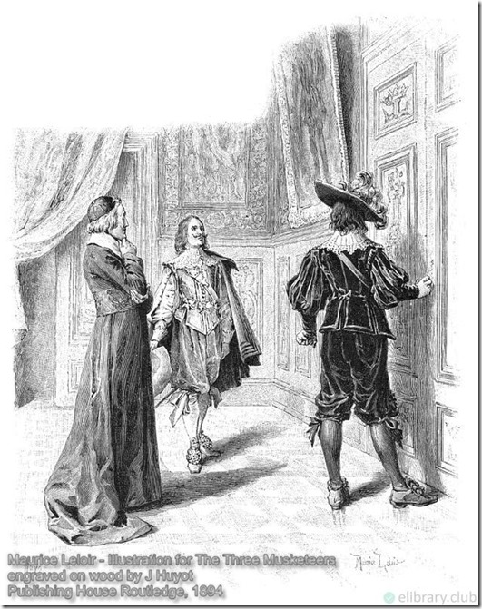 Louis XIII, de Treville, Cardinal Richelieu