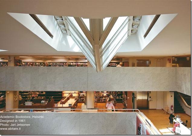 Alvar Aalto. Academic Bookstore in Helsinki