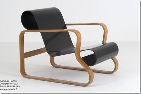 Alvar Aalto. Armchair Paimio