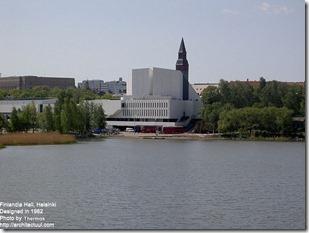Alvar Aalto. Finlandia Hall in Helsinki (2)