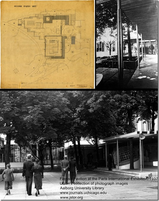 Alvar Aalto. Finnish Pavilion at the Paris International Exhibition