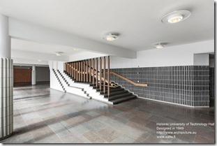 Alvar Aalto. Helsinki University of Technology Hall (2)