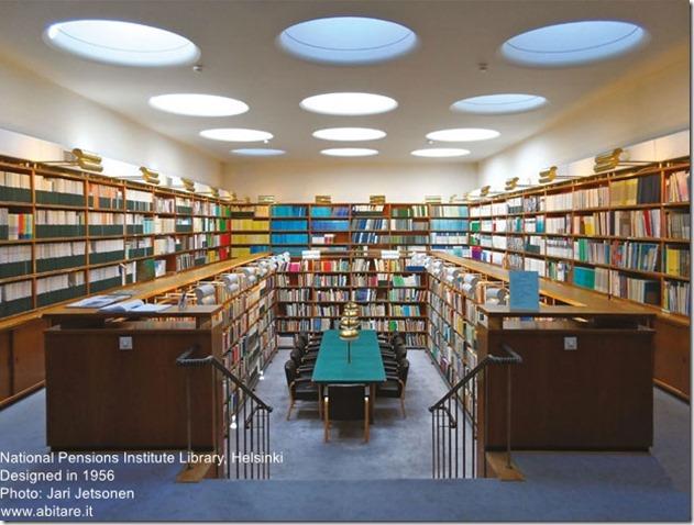Alvar Aalto. National Pensions Institute Library in Helsinki
