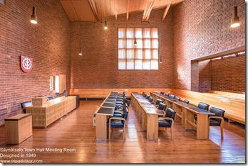 Alvar Aalto. Säynätsalo Town Hall Meeting Room
