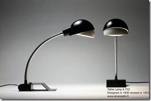 Alvar Aalto. Table Lamp A 702