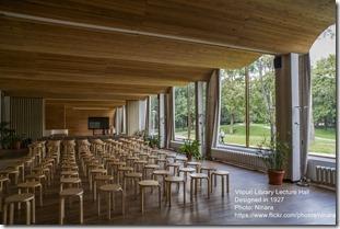 Alvar Aalto. Viipuri Library. Lecture Hall