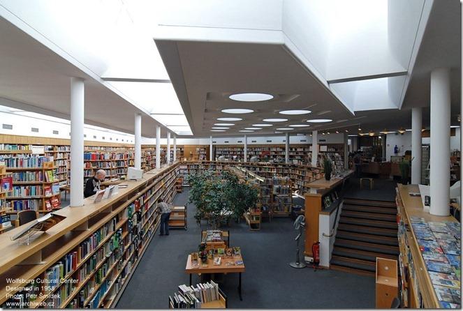 Alvar Aalto. Wolfsburg Cultural Center
