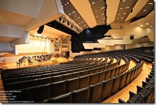Alvaro Aalto. Finlandia Hall in Helsinki. Concert Hall