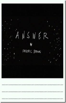Answer cover